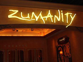 Ulaz u dvoranu gdje se odrzava Zumanity, u New York New York-u