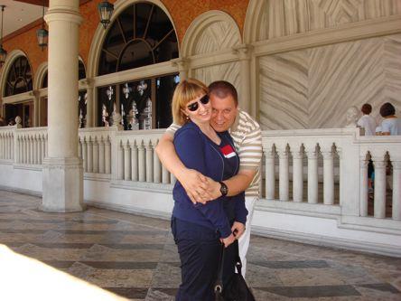 konacno zajednicka fotka pred Venetian-om