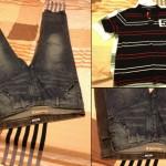 Odjeća koju sam nosio prije i nova odjeća