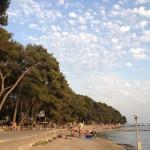 Plaža uz kamp Soline