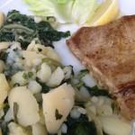 Tuna steak u restoranu Kampa Soline