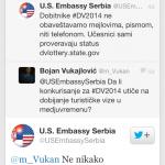 Odgovor USA ambasade