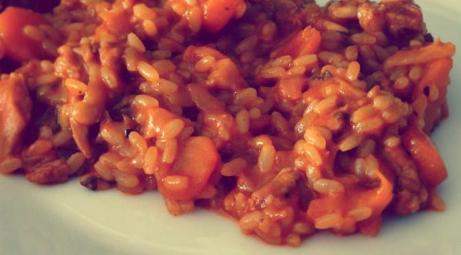Teleći rižoto