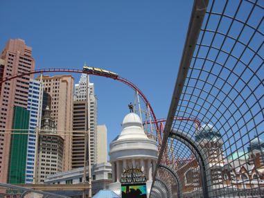roller coaster kod New York New York-a
