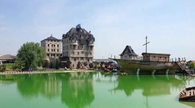 Hotel Pirg i jezero