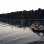 Plaža Soline u sumrak