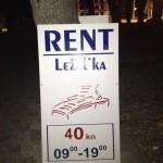 Rent ležaljka :)