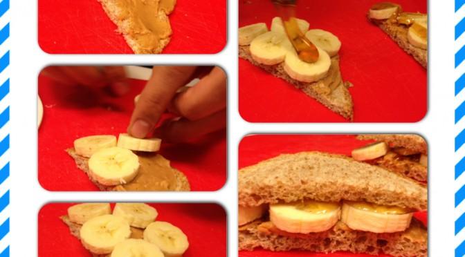 Kikiriki maslac sendvič