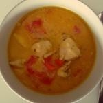 Pileća curry juha