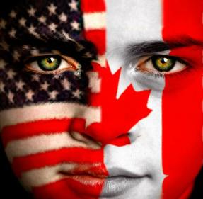 Kanada vs. Amerika