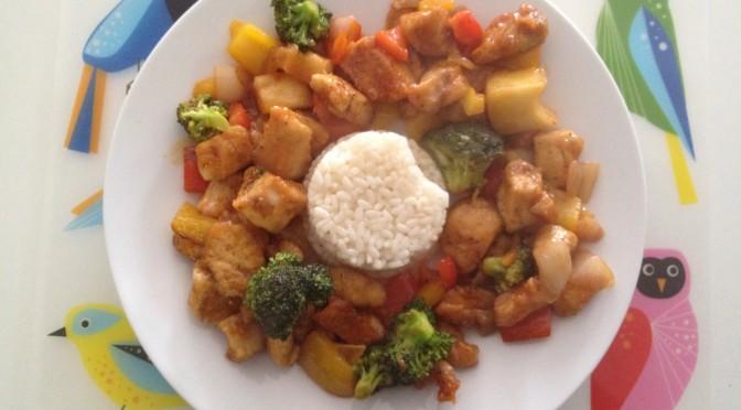 Egzotična piletina na kineski način